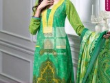 Summer lawn Dresses with TRENCIA SATIN SILK Collection8