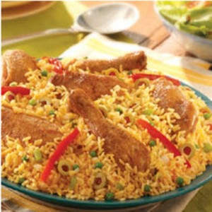 Arroz con pollo Recipe with Apples