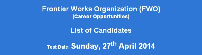 List of Candidates FWO NTS Test