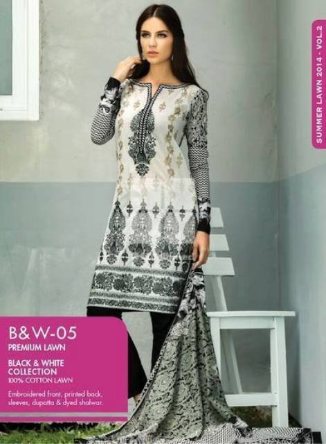 Gul Ahmed New Summer Catalogue 2014 Vol-2