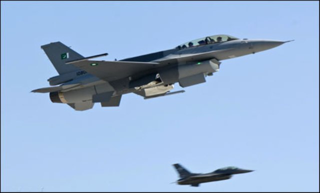 Pakistani military jets attack in Khyber Agency killed 16 Militants