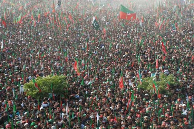 live streaming Imran khan jalsa in Sialkot
