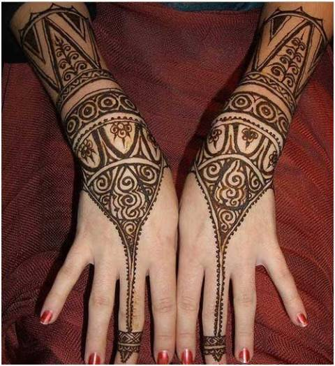 New Arabic Mehndi Designs 2014