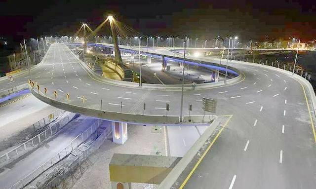 Country's Longest Flyover has been opened
