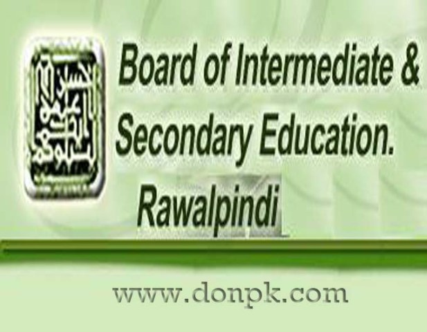 Rawalpindi board 11th 12th Class Online supply Date sheet 2014