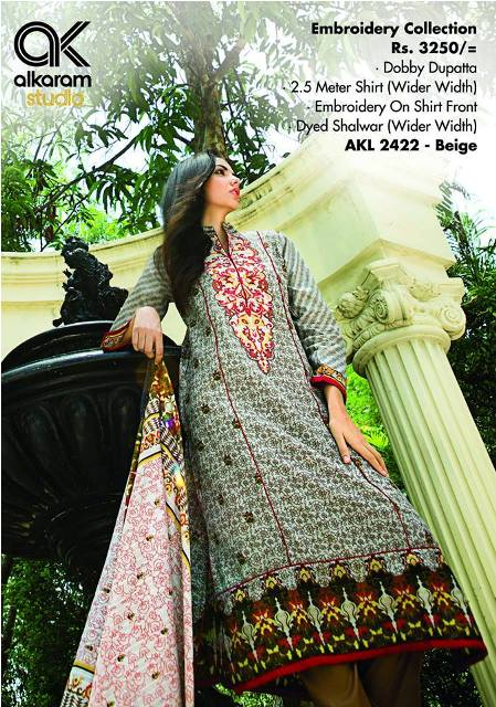 Sana Safinaz Alkaram mid Summer Collection 2014