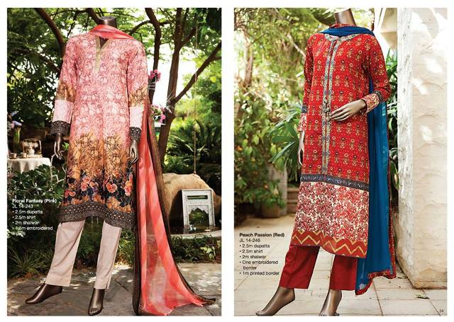 Junaid Jamshed mid Summer Collection for Women