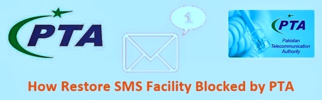 PTA Telenor SMS outgoing Block Restoration