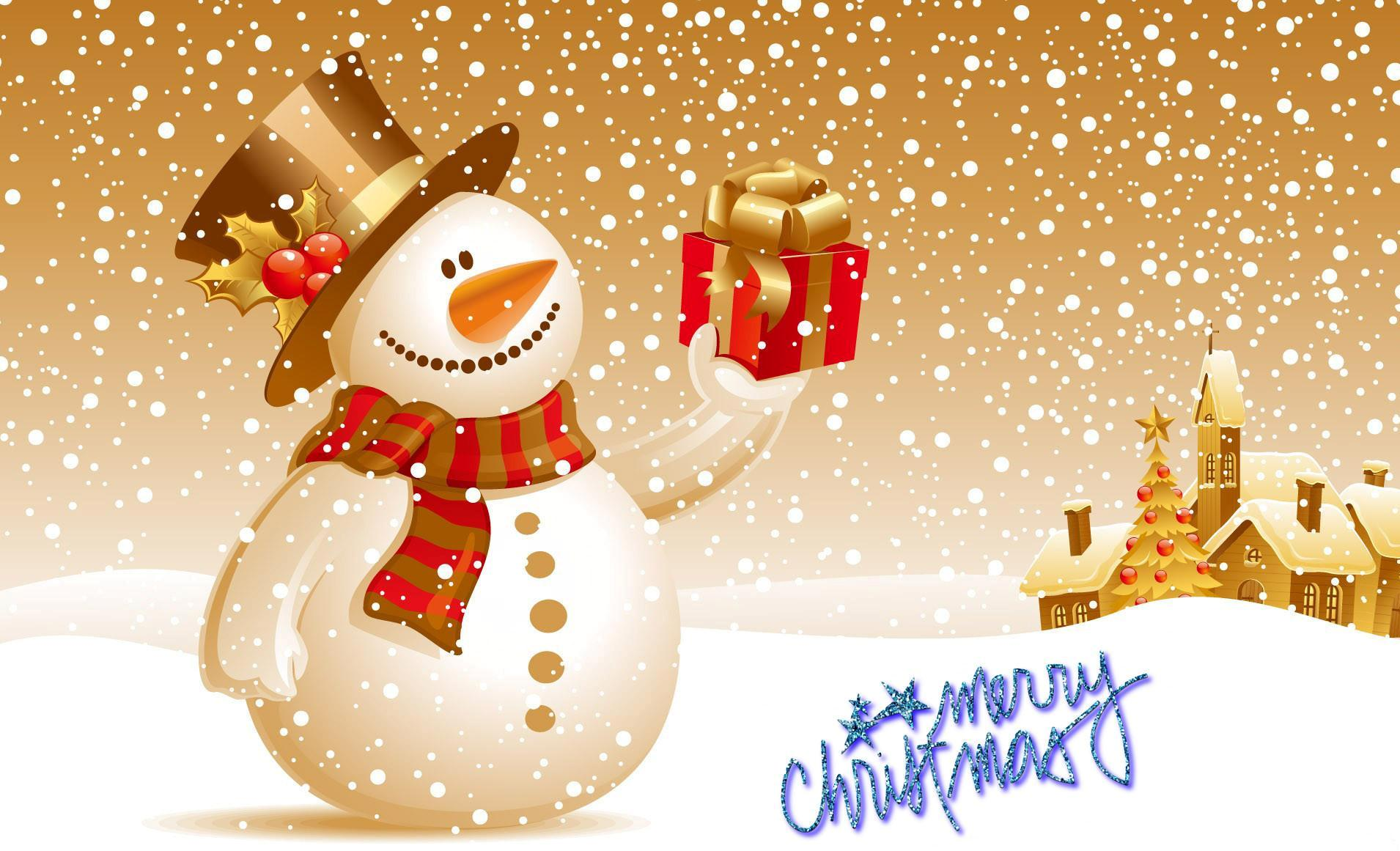 Merry Christmas tree Wallpapers Postcards Greetings Images