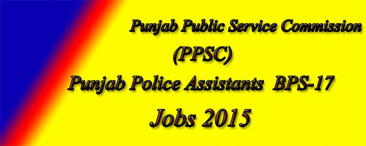 Assistants jobs in punjab Police