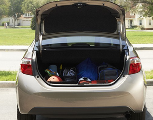 trunk space toyota corolla 28 images 2014 toyota corolla sedan checking out cargo area space. Black Bedroom Furniture Sets. Home Design Ideas