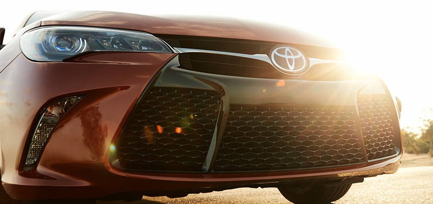 toyota camry front grille picture photos