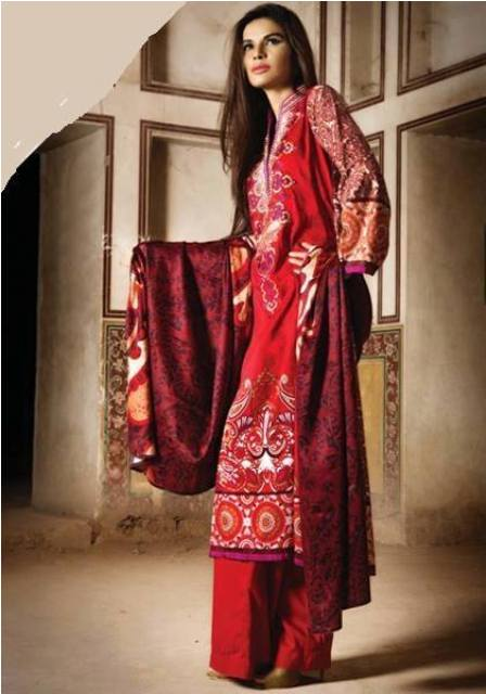 khaddar fabric women dresses by asim jofa