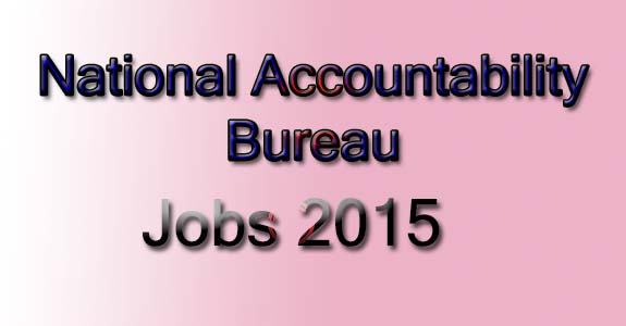 National Accountability Bureau (NAB) Officers Jobs 2015