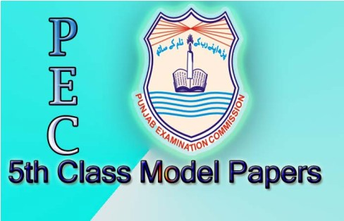 PEC 5th Class Model papers 2015