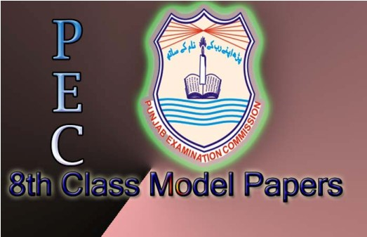 Grade 8th  Model papers  Free download
