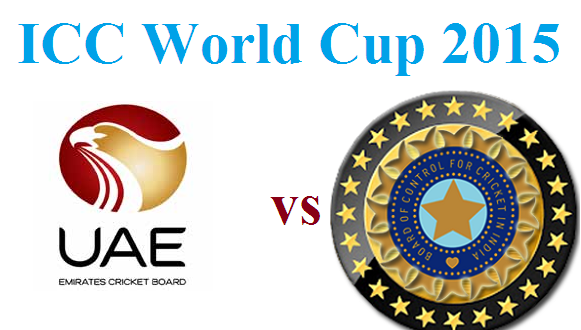 Live Star Sports India vs UAE Cricket Match Streaming 28 Feb 2015
