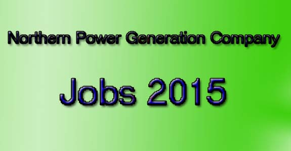 Northern Power Generation Company  jobs 2015