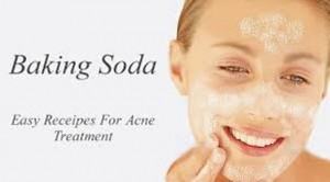 baking soda paste for acne treatment