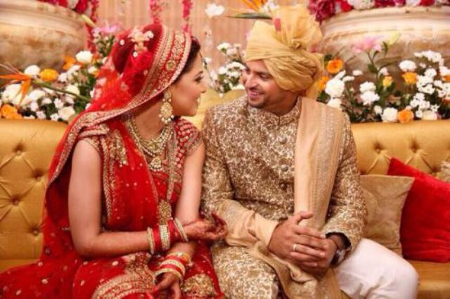 suresh raina amp priyanka chaudhary wedding pictures