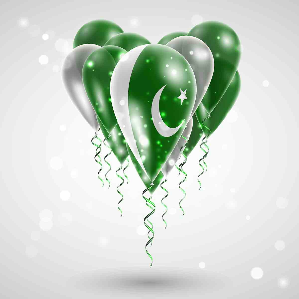 beautiful pakistan flag images pictures download