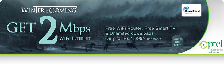 PTCL Winter packages detail