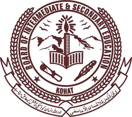 Bise Kohat SSC (9th & 10th)  date sheet 2016