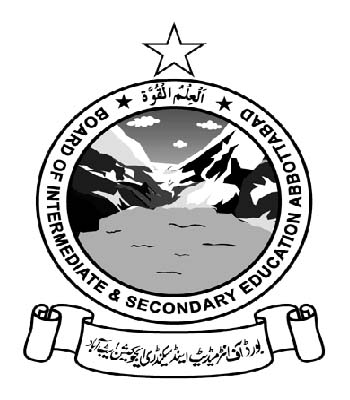 Bise Abbottabad HSSC Part-I & Part-II Supply Exam 2016 Date Sheet