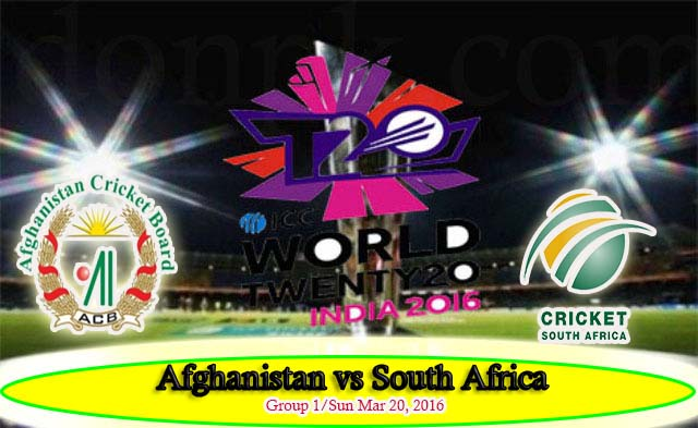 Afghanistan v South Africa Live match Streaming Score Highlights