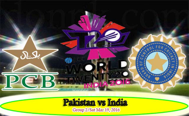Highlights Pakistan vs India WorldT20 Match 19 March 2016