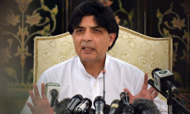Interior minister Chaudhry Nisar Delayed Pakistan Cricket team visit to India