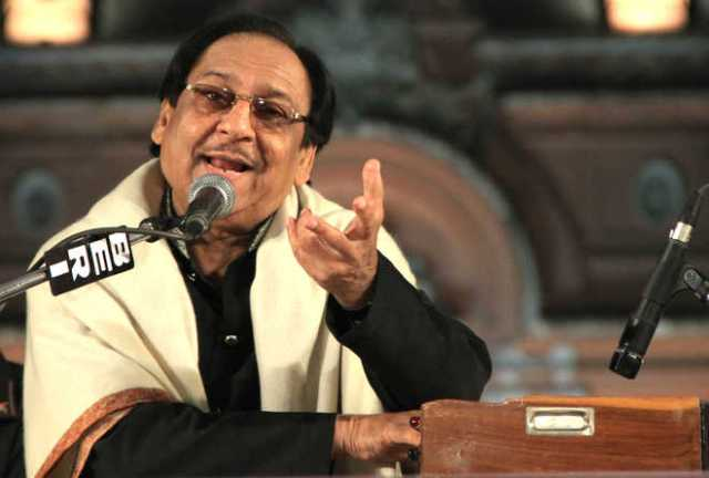 Ghulam Ali album launches ceremony After Threats from Shiv Sena