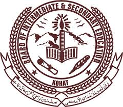 Bise Kohat Date Sheet HSSC Annual Examinations 2016