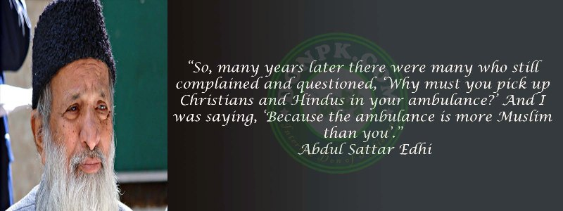 Abdul sattar messages for Pakistan