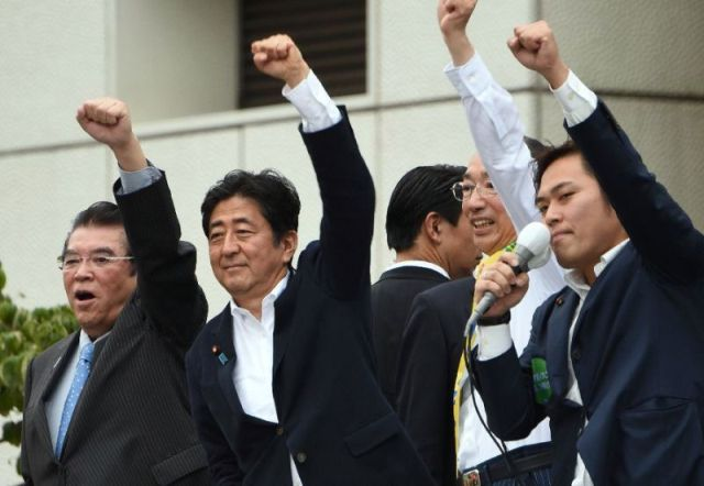 Japan votes in crucial upper house election