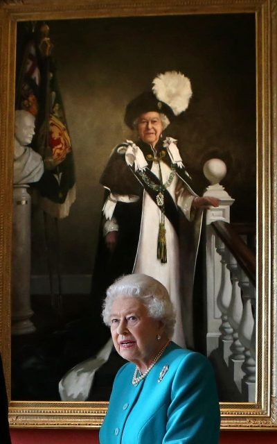 New portrait of Queen Elizabeth on her 90th Birthday