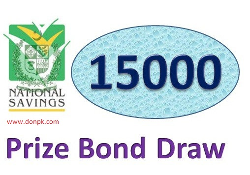check Prize bond draw result 15000 full list online