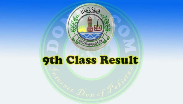 SSC Part 1 9th Class Result 2017 Bise FSD Board