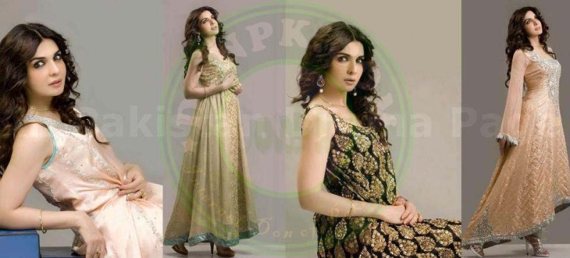 Mahnoor Baloch in fashion show