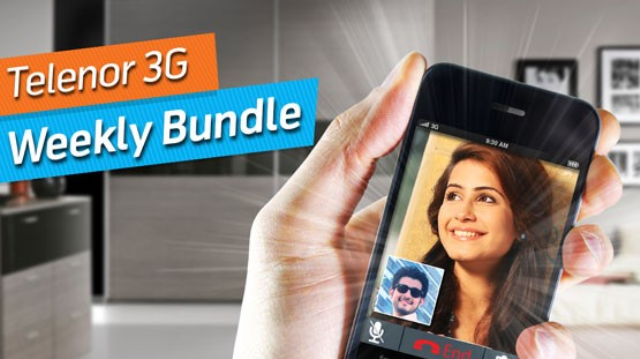 Telenor 3G Weekly Bundles Packages Offer detail
