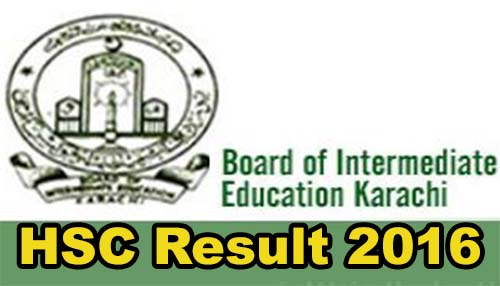 Bise Karachi Board HSC Part 2 2016 Results announced