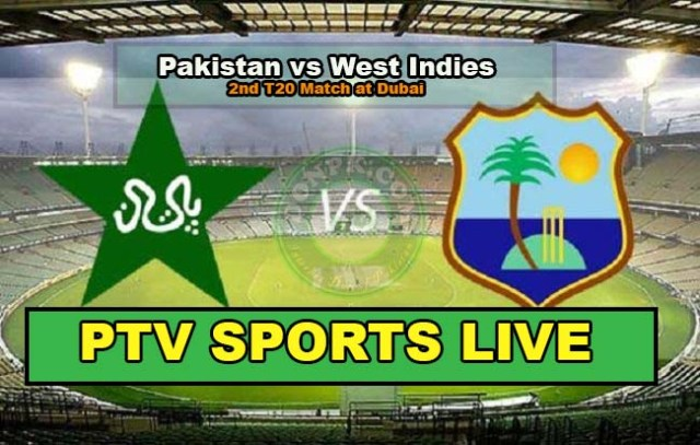 Pak vs WI 2nd T20 Cricket match PTV Sports Live streaming 24th September 2016