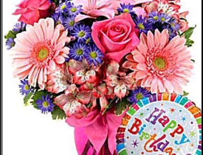 birthday flowers hd images