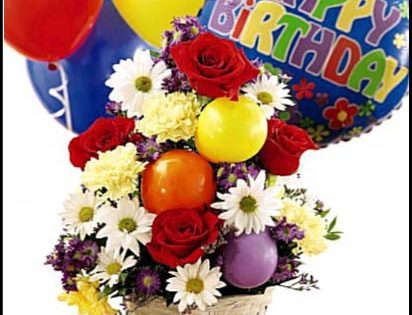birthday flowers images free download