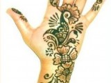 Best One Hand Henna Designs Arabic