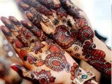 Girls Arabic Mehndi Designs
