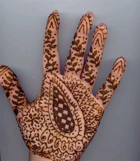 Mehndi Designs Simple pattern