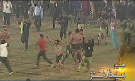Pakistan became the Asia Cup kabaddi champions defeating India in the final here at the Punjab Stadium on Monday