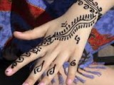 Simple girl Mehndi Designs