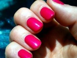 Pink colour Nail Polish